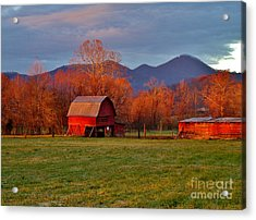Hominy Valley Mornin' Acrylic Print