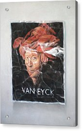Hommage To Van Eyck Acrylic Print