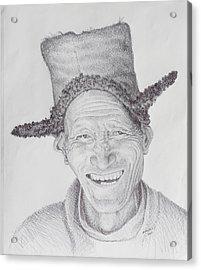 Homo Sapiens Iv Acrylic Print