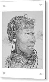 Homo Sapiens V Acrylic Print