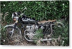 Honda 450 Motorcycle Acrylic Print