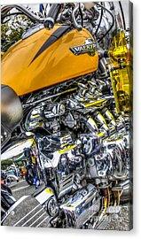 Honda Valkyrie 3 Acrylic Print by Steve Purnell