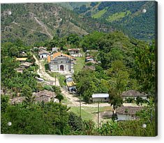 Honduras Mountain Village Acrylic Print