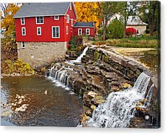 Honeoye Falls 1 Acrylic Print by Aimee L Maher Photography and Art Visit ALMGallerydotcom