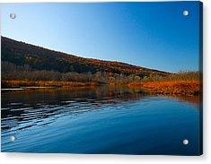 Honeoye Lake Inlet Acrylic Print by Steve Clough