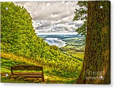 Honeoye Lake Overlook Acrylic Print
