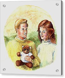 Honey Bear Acrylic Print