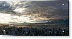 Honey Lake Valley Sunrise Acrylic Print
