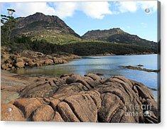 Honeymoon Bay Tasmania All Profits Go To Hospice Of The Calumet Area Acrylic Print