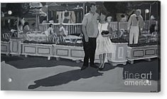 Honeymoon On Main St. Acrylic Print