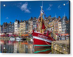 Honfleur Normandy Acrylic Print by Tim Stanley