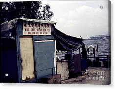 Hong Kong Boat For Hire Acrylic Print by Scott Shaw