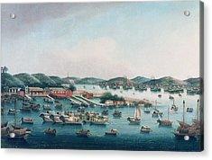 Hong Kong Harbor Acrylic Print
