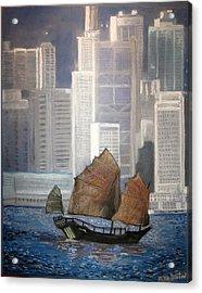 Hong Kong Acrylic Print