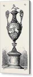 Hong Kong Races The Barristers Cup 1861 Acrylic Print by English School