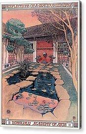 Honolulu Academy Of Arts Acrylic Print by Jack Adams