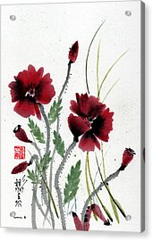 Acrylic Print featuring the painting Honor by Bill Searle