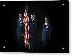 Honor Guard Acrylic Print by Karol Livote