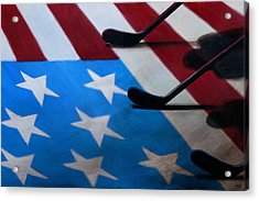 Honoring America Acrylic Print by Marlon Huynh