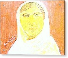 Honoring Malala Yousafzi's Nobel Peace Prize - Shot By Taliban For Championing Schooling For Girls 2 Acrylic Print