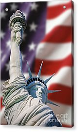 Honour Liberty And Freedom Acrylic Print