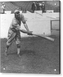 Honus Wagner Acrylic Print by Unknown