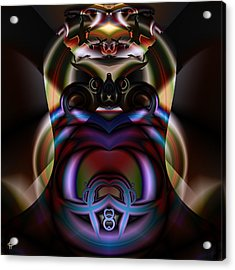 Hooded Cobra Acrylic Print by Jim Pavelle