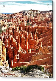 Acrylic Print featuring the photograph Hoodoo Magic by Sylvia Thornton