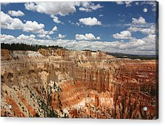 Hoodoos At Bryce Canyon Acrylic Print