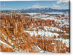 Hoodoos At Sunset Point Acrylic Print