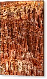 Hoodoos Of Bryce Acrylic Print by Andrew Soundarajan