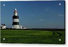 Hook Head Lighthouse Acrylic Print by Peter Skelton