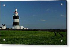 Hook Head Lighthouse Acrylic Print