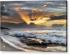 Ho'okipa Sunset Acrylic Print
