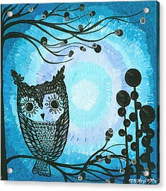 Hoolandia Contrasts 02 Acrylic Print