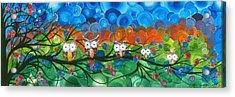 Hoolandia Family Tree 03 Acrylic Print