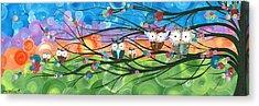 Hoolandia Family Tree 04 Acrylic Print
