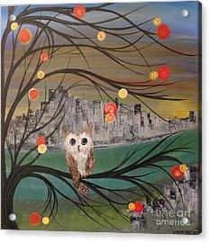 Hoolandia Hoo's City 03 Acrylic Print