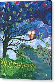 Hoolandia Seasons Spring Acrylic Print