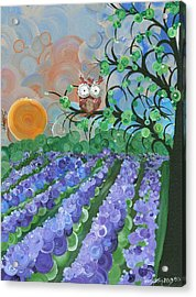 Hoolandia Seasons Summer Acrylic Print