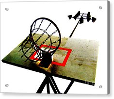 Hoop City Chains Acrylic Print