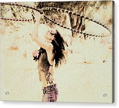 Hoop Dancer  Acrylic Print