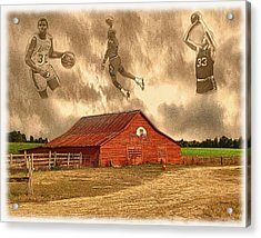 Hoop Dreams Acrylic Print by Charles Ott