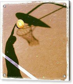 Hoop Dreams Acrylic Print by CML Brown