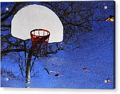 Acrylic Print featuring the photograph Hoop Dreams by Jason Politte