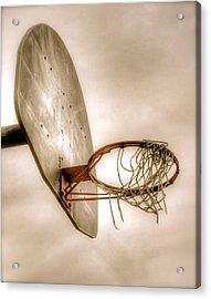 Hoop Acrylic Print by Steve Ratliff