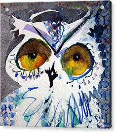 Hoot Cropped Acrylic Print