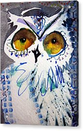 Hoot Uncropped Acrylic Print
