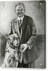 Hoover And King Tut Acrylic Print by Martha Suhocke