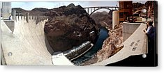 Acrylic Print featuring the photograph Hoover Dam 1 by Russell Smidt